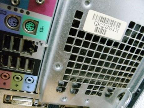 画像=パソコンのホコリ画像イメージ