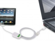 iPadがパソコンで充電可能に-サンコーからケーブル発売