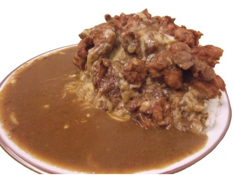 マンモス 2kg唐揚げカレー