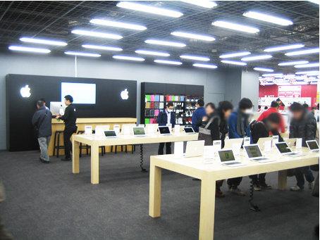 ヨドバシカメラ マルチメディアAkiba内「Appleショップ」(yodobashi.comより)