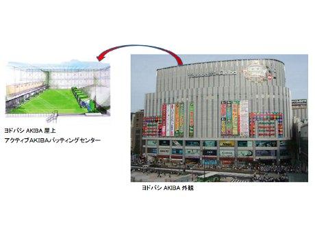 アクティブAKIBAバッティングセンター イメージ