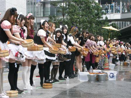 うち水っ娘大集合!2011開催時の様子