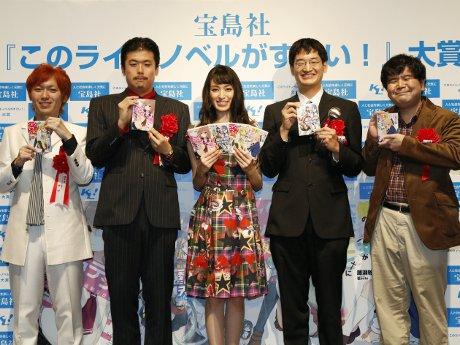 左からサブさん、長谷川也さん、栗山千明さん、小泊フユキさん、藤瀬雅輝さん