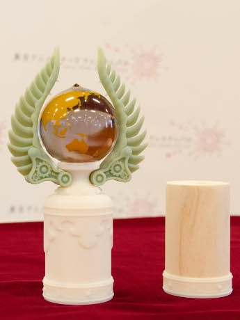 東京アニメアワードフェスティバル2015 アニメドール トロフィー最終段階サンプル