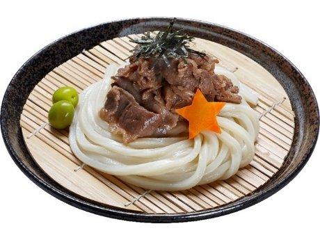 「オリーブ牛うどん」(980円)