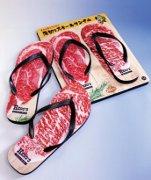 1ポンドステーキの「ヒーローズ」、生肉ビーチサンダル発売