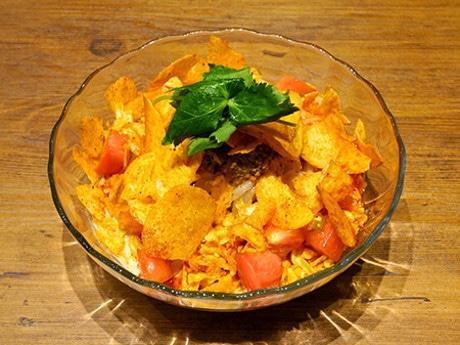 福の神食堂「冷やムーチョ坦々麺」