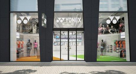 「YONEX SHOWROOM AKIHABARA」外観イメージ
