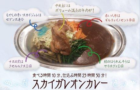 「スカイガレオンカレー」(1,000円)