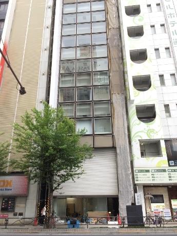 「アニメイトAKIBAガールズステーション」が出店するビル外観