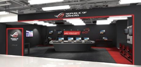 「ASUS ROG Gaming Zone(エイスース アールオージー ゲーミングゾーン)」イメージ