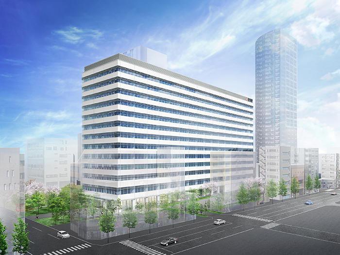 日本通運新本社ビル完成イメージ図
