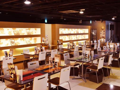 「カウボーイビバップ」×「アニメイトカフェ」店内