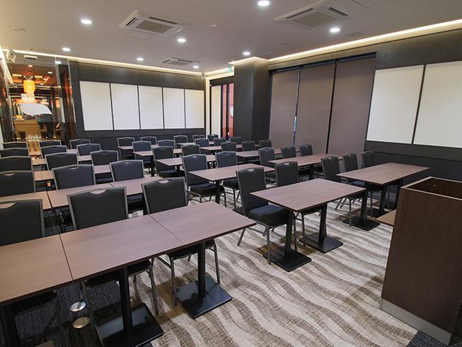 ホテル内に併設する会議室イメージ。画像は「アパホテル TKP京急川崎駅前」