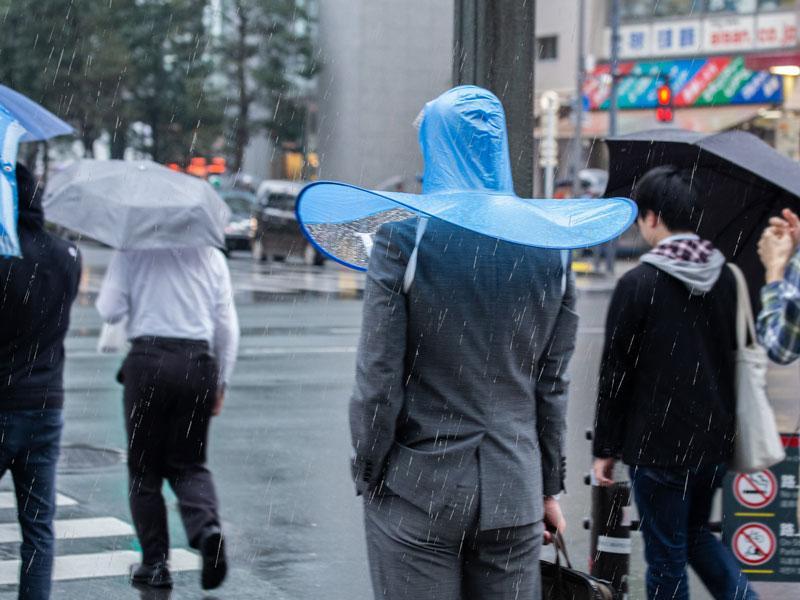 「手ぶら傘」使用イメージ