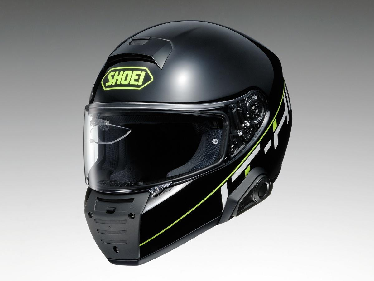 オートバイ用スマートヘルメット「IT-HL(仮称)」