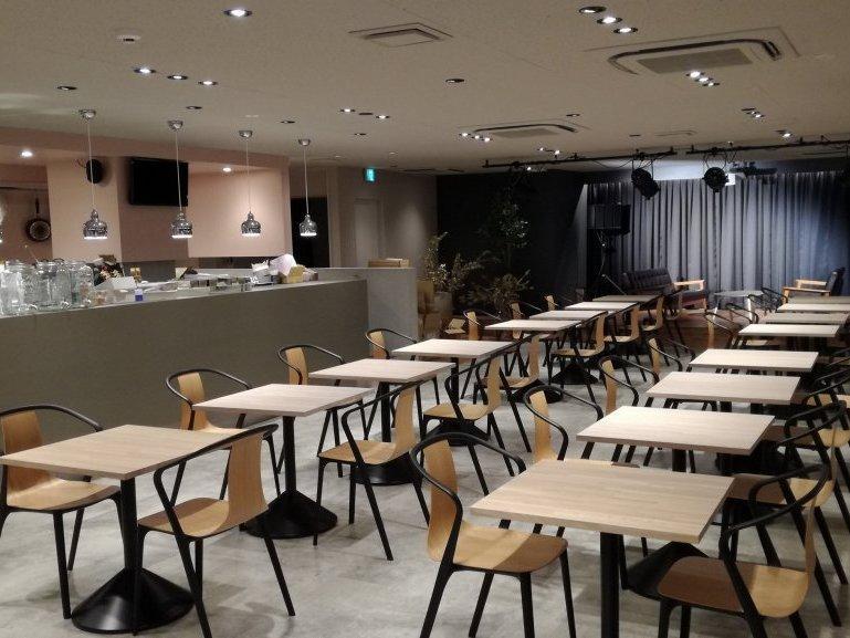 「STELLAMAP Cafe」店内
