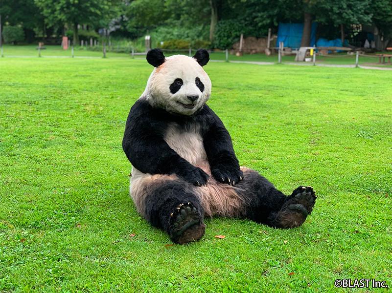 「特殊造型スタジオ ゼペット」が手がけた「究極のパンダ着ぐるみ」