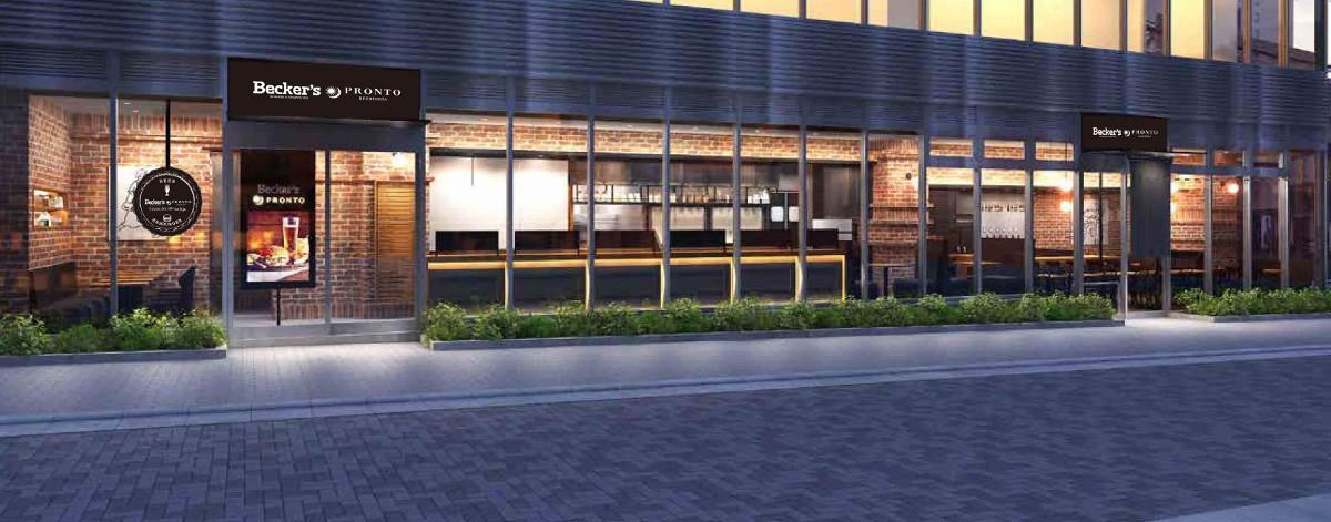 「Becker's × PRONTO(ベッカーズ×プロント)JR東日本ホテルメッツ秋葉原店」外観イメージ