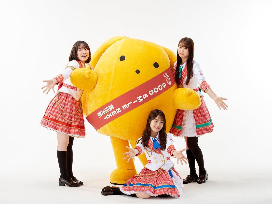 「GOOD SMILE NEXT」アンバサダーユニット「NEXT SMILE!」。左よりから鈴木みのりさん、伊藤美来さん、芹澤優さん