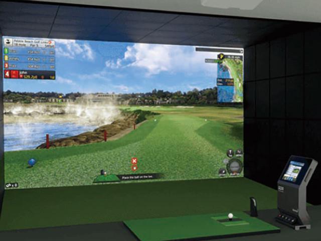 「Akiba Golf Studio」のシミュレーションルームイメージ