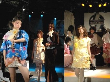 秋田市のショーチーム「Show Me…」。昨年の同イベント会場の様子