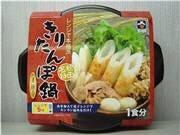 チンして5分の即席「きりたんぽ鍋」-秋田の食品会社が発売