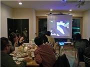 秋田でウェブ制作者の交流会-iPhoneの応用技など披露