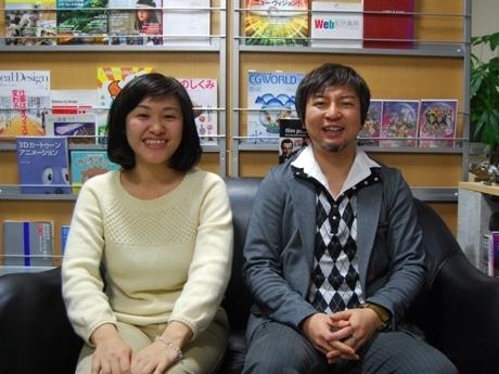 5周年を迎えた「ゼロニウム」の伊藤さん(右)と黒川さん