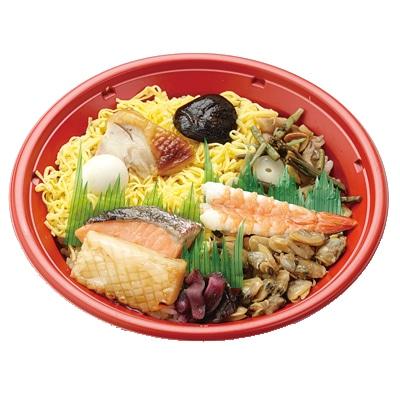 秋田の海の幸や山の幸をイメージした釜飯風「ホジナシ丼」