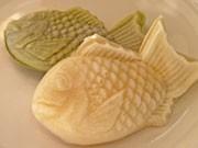 九州発祥の白いたいやき「尾長屋」、秋田に初出店-モチモチ食感人気に