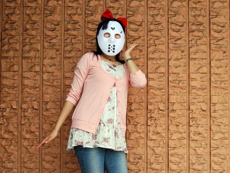 今夏結成したコスプレ同好会「THE 秋田仮装衆」のジェイ・ソン子さん