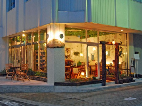秋田市の仲小路商店街にオープンした無農薬・減農薬野菜にこだわるカフェ「地球食堂 bonobo(ボノボ)」