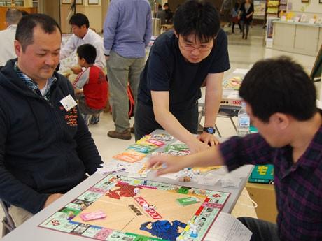 秋田市で開かれた「モノポリー日本選手権・東北地区大会」