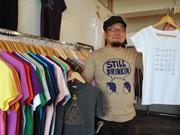 秋田の専門店で「Tシャツ」フェス-地元クリエーターら20組が出品