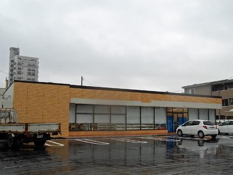 秋田市内に初出店する「セブン-イレブン」(写真は、開店準備中の「秋田中通6丁目店」)