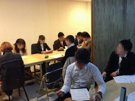 秋田市のシェアオフィス「Mag(マグ)」で開かれる勉強会の様子