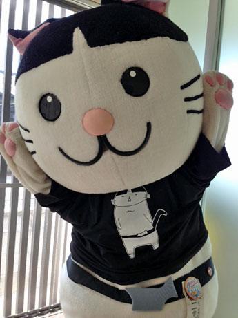 秋田の猫キャラ「ニャジロウ」
