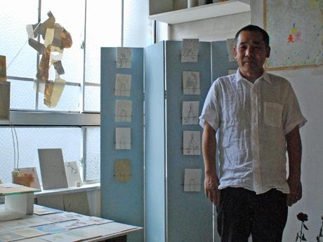 東京都国立市在住の画家・藤川孝之さん