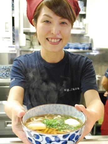 比内地鶏がらスープを使ったうどん専門店「くーちゃん」(秋田市土崎港西1)