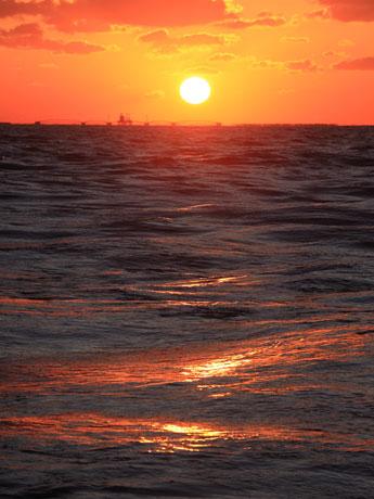 海が題材の写真作品 ©小松ひとみ