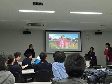 「デジコミュ秋田」発表会の様子(写真は2014年)