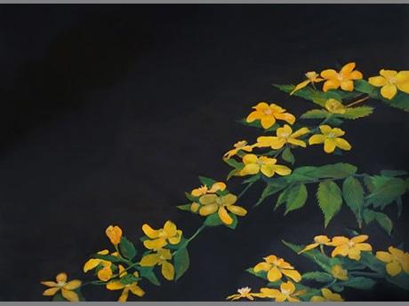 「あきたの美術2015」出品作品「はなすがた Yamabuki I」 ©大谷有花 2014 courtesy of I.C.Arts