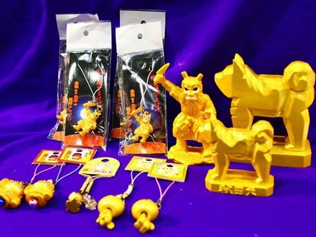 台湾や東南アジアなど海外からのインバウンド需要で人気が高い「金色」の雑貨類