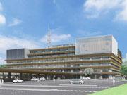 秋田市役所「新庁舎」、市民向け内覧会 完成記念式典に合わせ