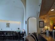 秋田・昼間のみ営業のカフェで夜の演奏会 高い天井空間生かし