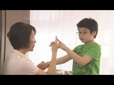 大阪市の小学校の取り組みを扱ったドキュメンタリー映画「みんなの学校」の一場面