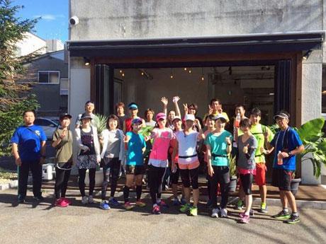 秋田市を中心に活動するランニンググループ「Good Morning RUN in AKITA」メンバー