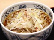 秋田駅改札前に「駅そば」復活 県産食材のトッピングも