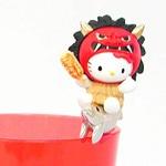 マスコット人形「コップのフチ子」公認キティに「秋田版」